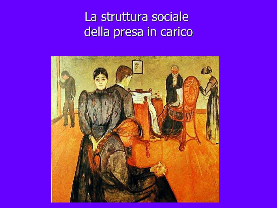 La struttura sociale della presa in carico