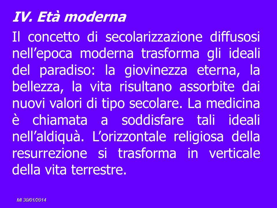 IV. Età moderna