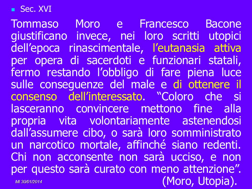 Sec. XVI