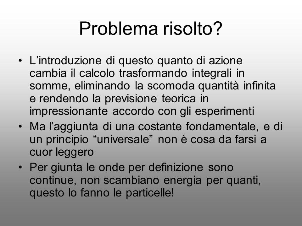 Problema risolto
