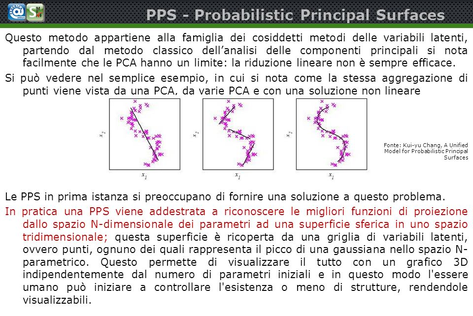PPS - Probabilistic Principal Surfaces