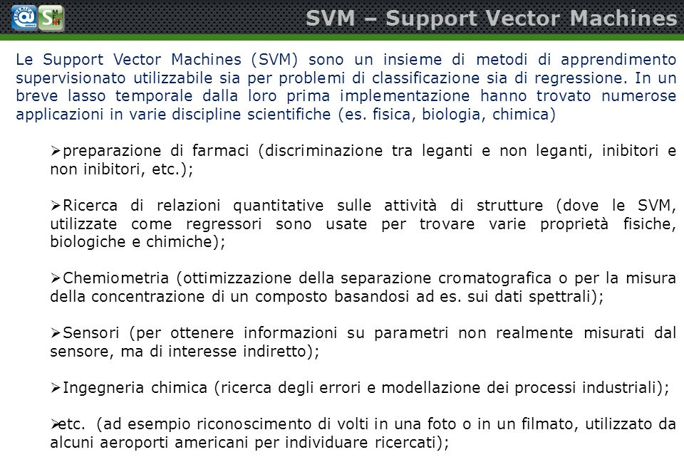 SVM – Support Vector Machines