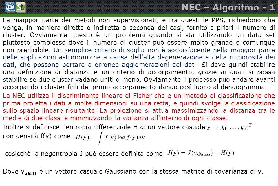 NEC – Algoritmo - 1