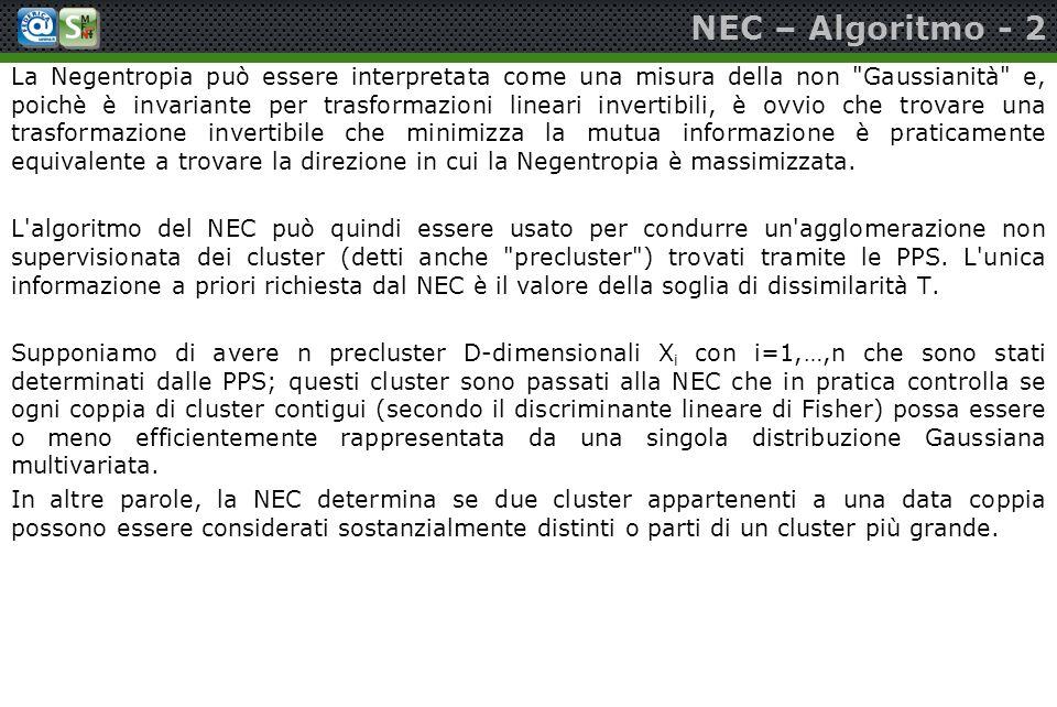 NEC – Algoritmo - 2