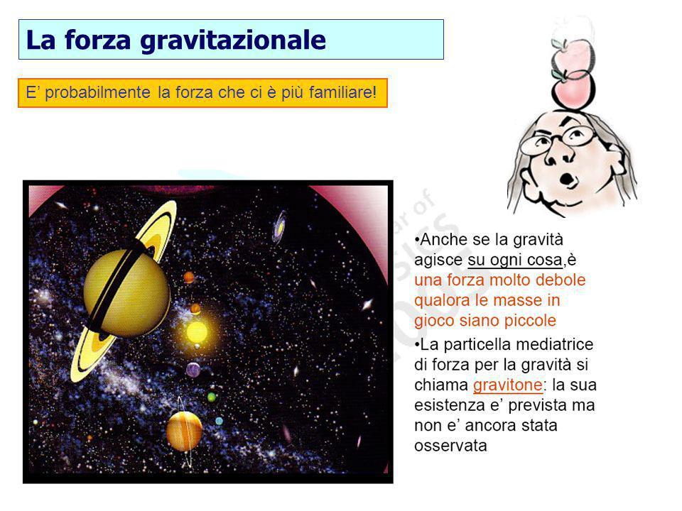 La forza gravitazionale