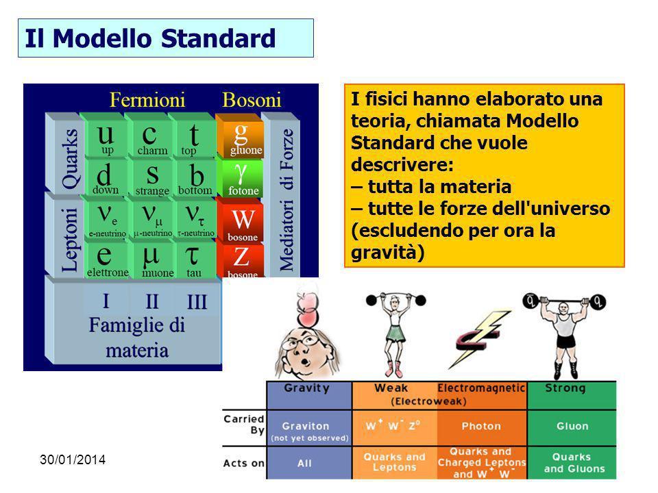Il Modello Standard I fisici hanno elaborato una teoria, chiamata Modello. Standard che vuole descrivere: