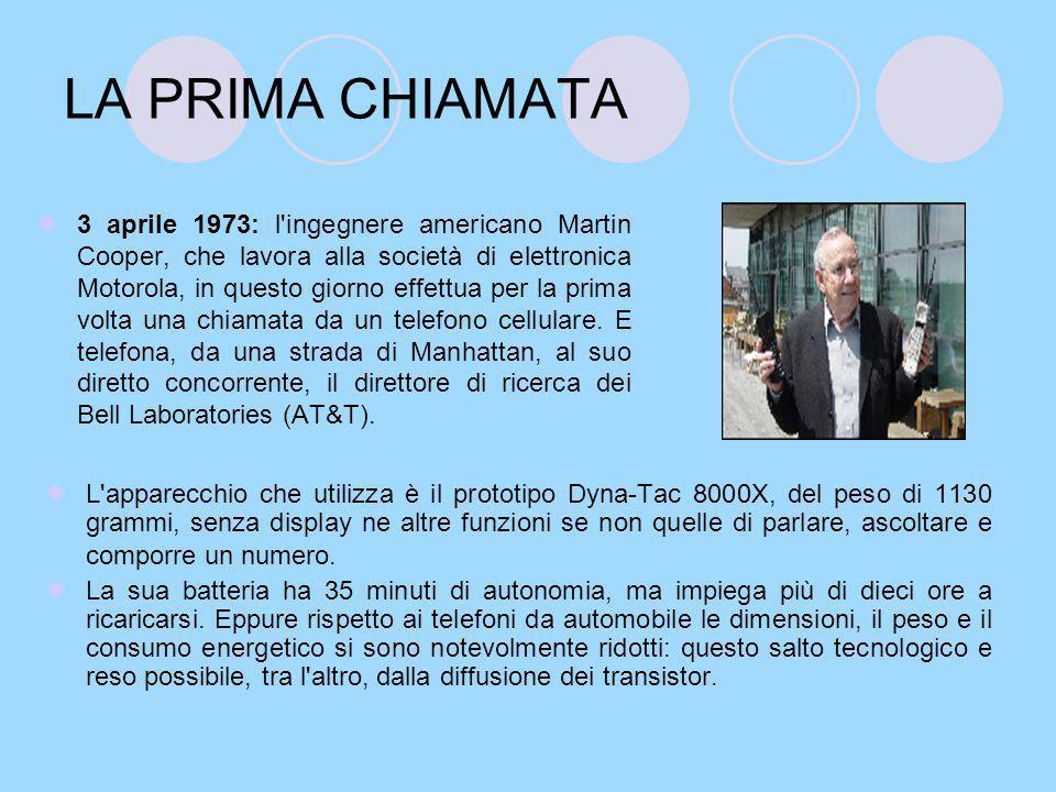 LA PRIMA CHIAMATA