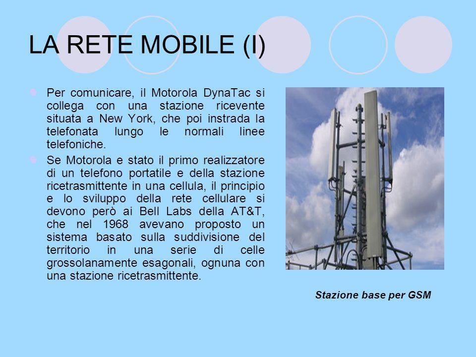 LA RETE MOBILE (I)
