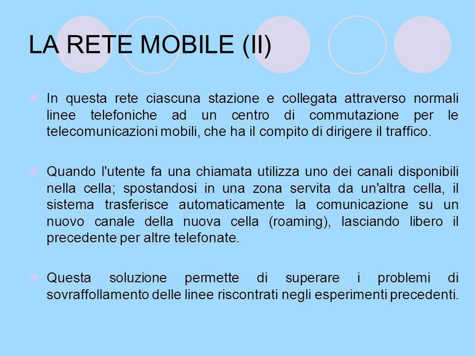 LA RETE MOBILE (II)