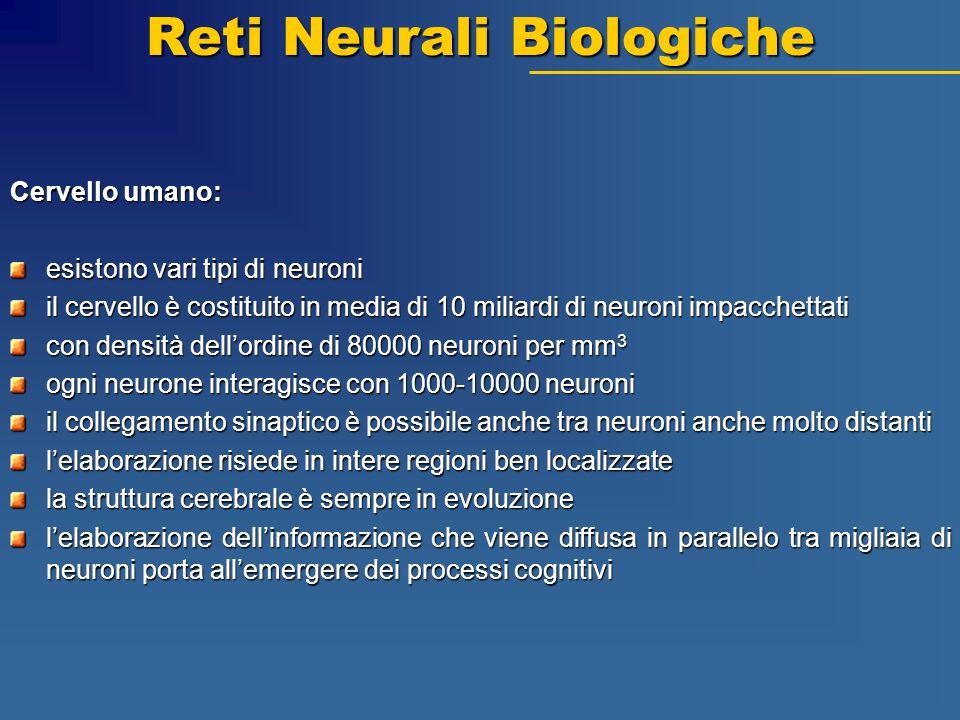 Reti Neurali Biologiche
