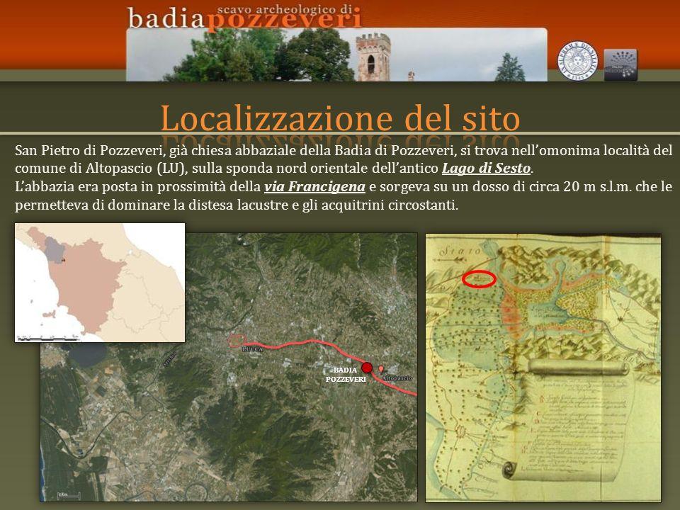 Localizzazione del sito