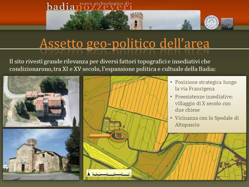 Assetto geo-politico dell'area