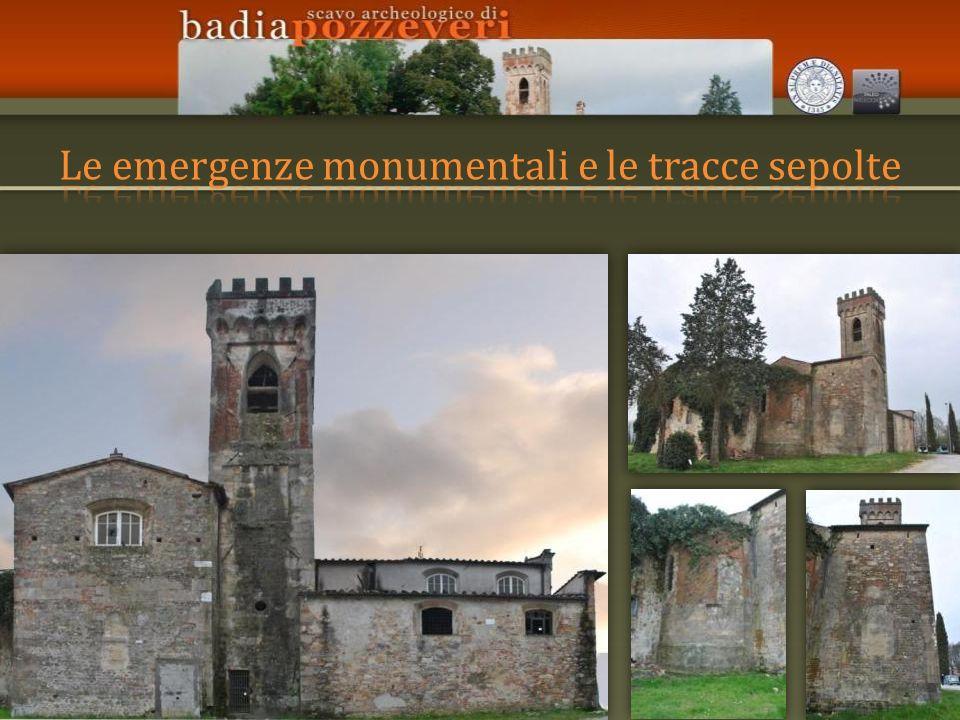 Le emergenze monumentali e le tracce sepolte