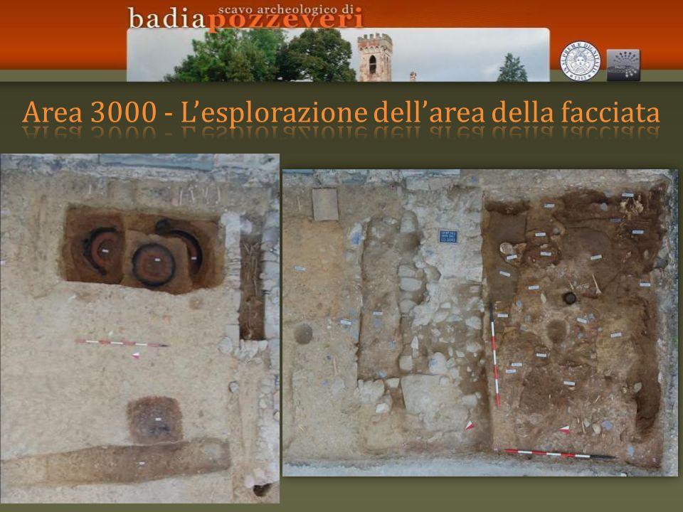 Area 3000 - L'esplorazione dell'area della facciata