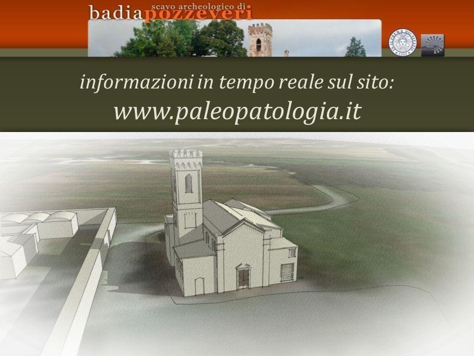 informazioni in tempo reale sul sito: