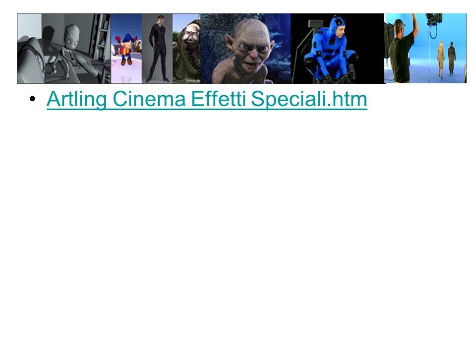 Artling Cinema Effetti Speciali.htm