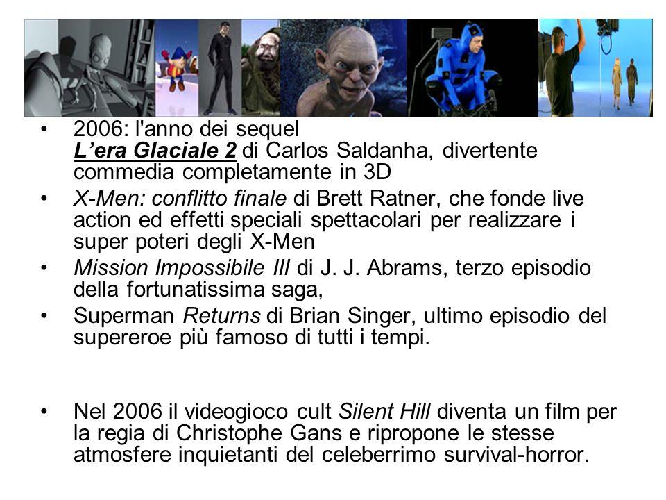 2006: l anno dei sequel L'era Glaciale 2 di Carlos Saldanha, divertente commedia completamente in 3D