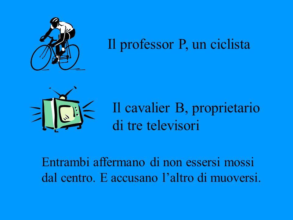 Il professor P, un ciclista