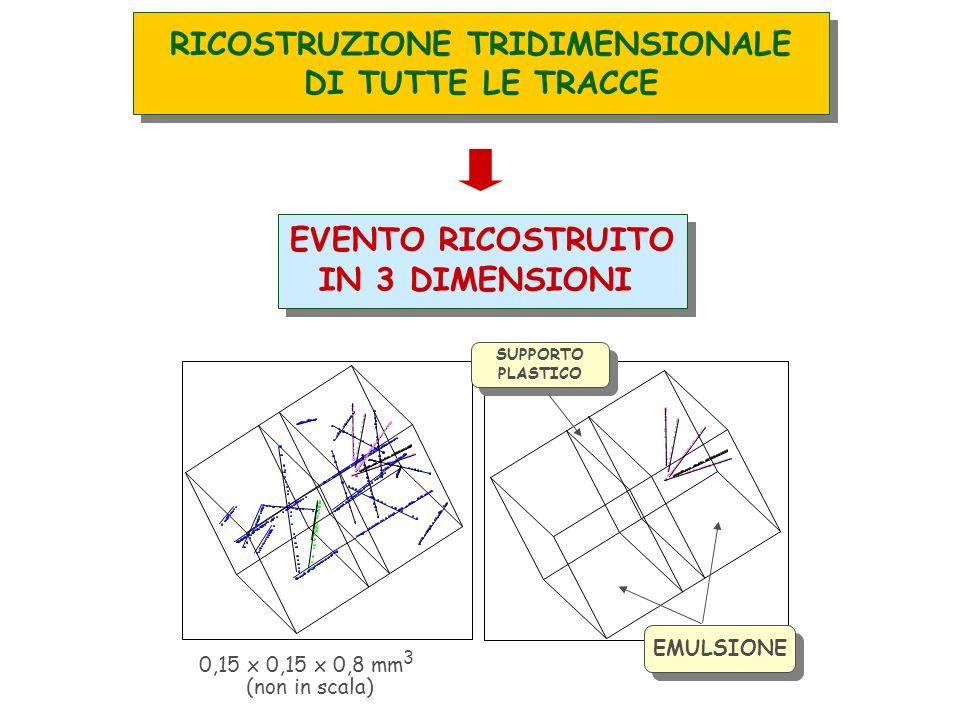 RICOSTRUZIONE TRIDIMENSIONALE DI TUTTE LE TRACCE