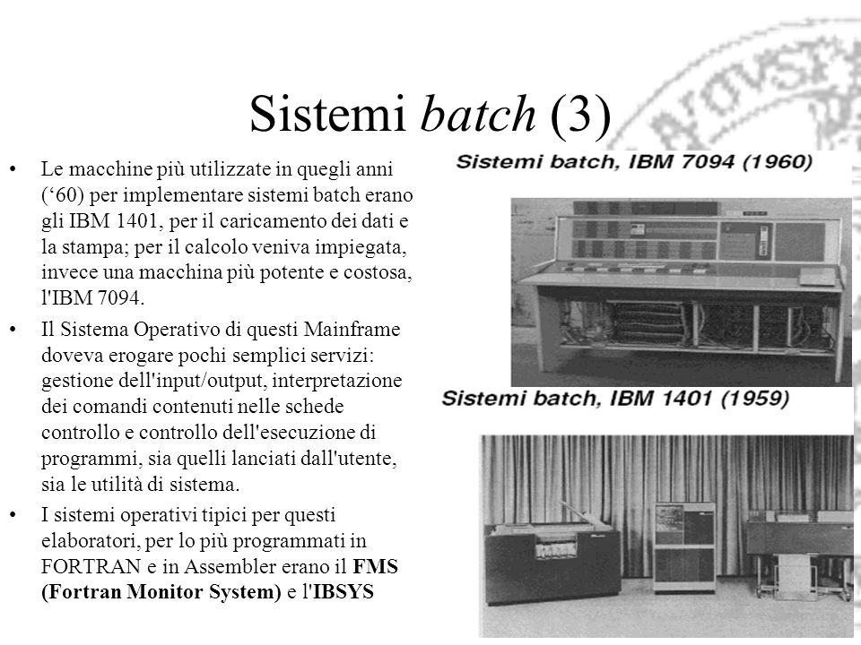 Sistemi batch (3)