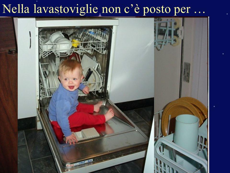 Nella lavastoviglie non c'è posto per …