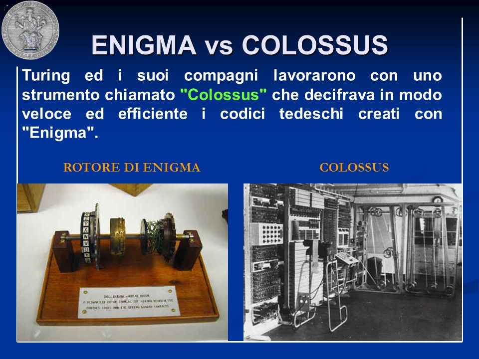 ENIGMA vs COLOSSUS