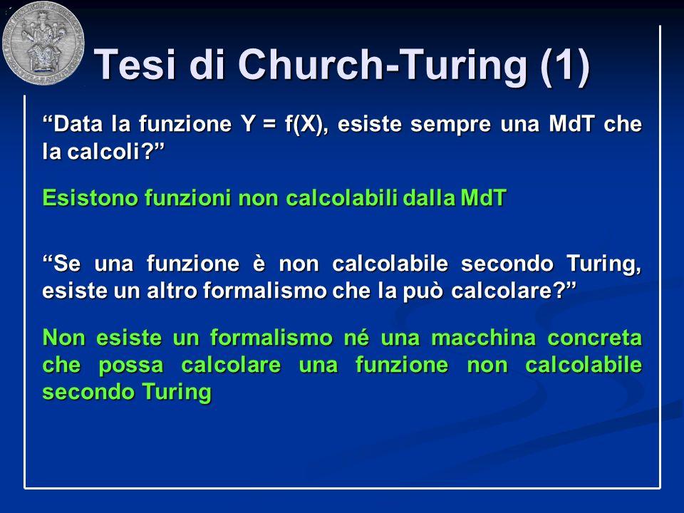 Tesi di Church-Turing (1)