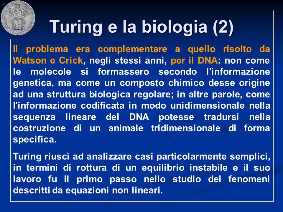 Turing e la biologia (2)