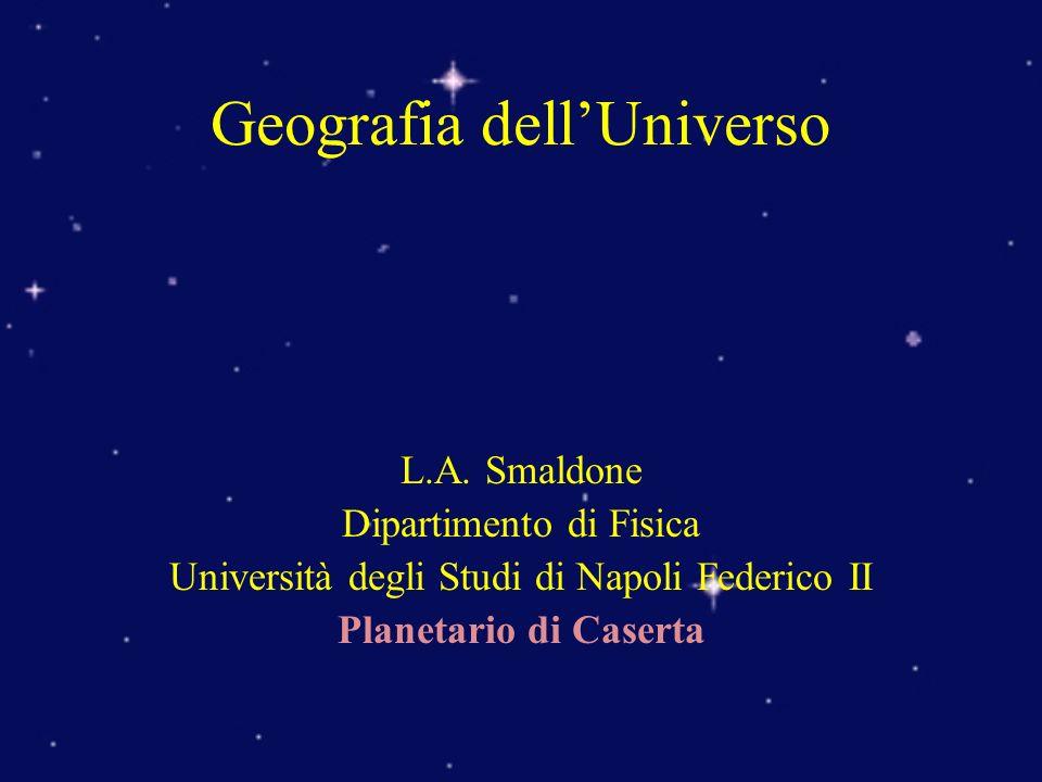 Geografia dell'Universo