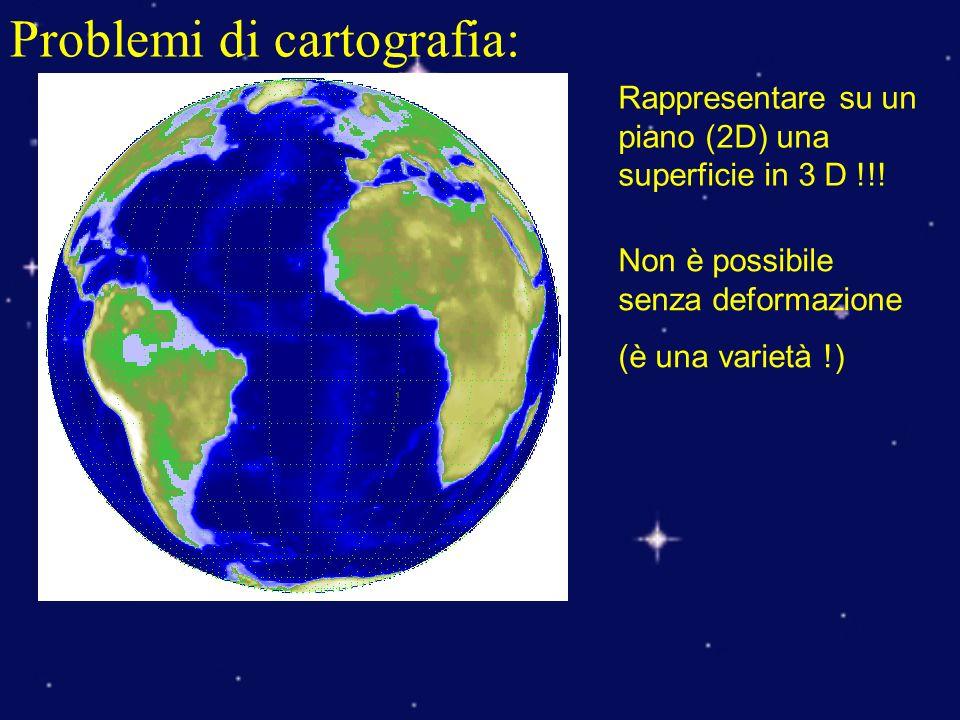 Problemi di cartografia: