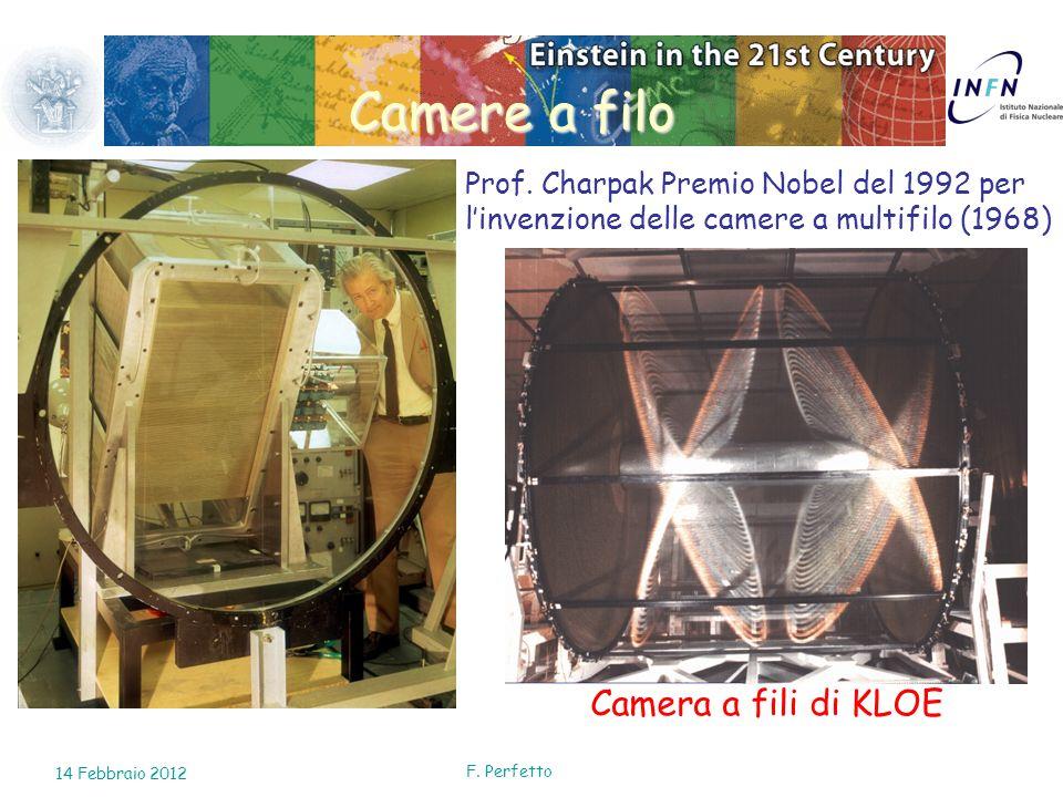 Camere a filo Camera a fili di KLOE