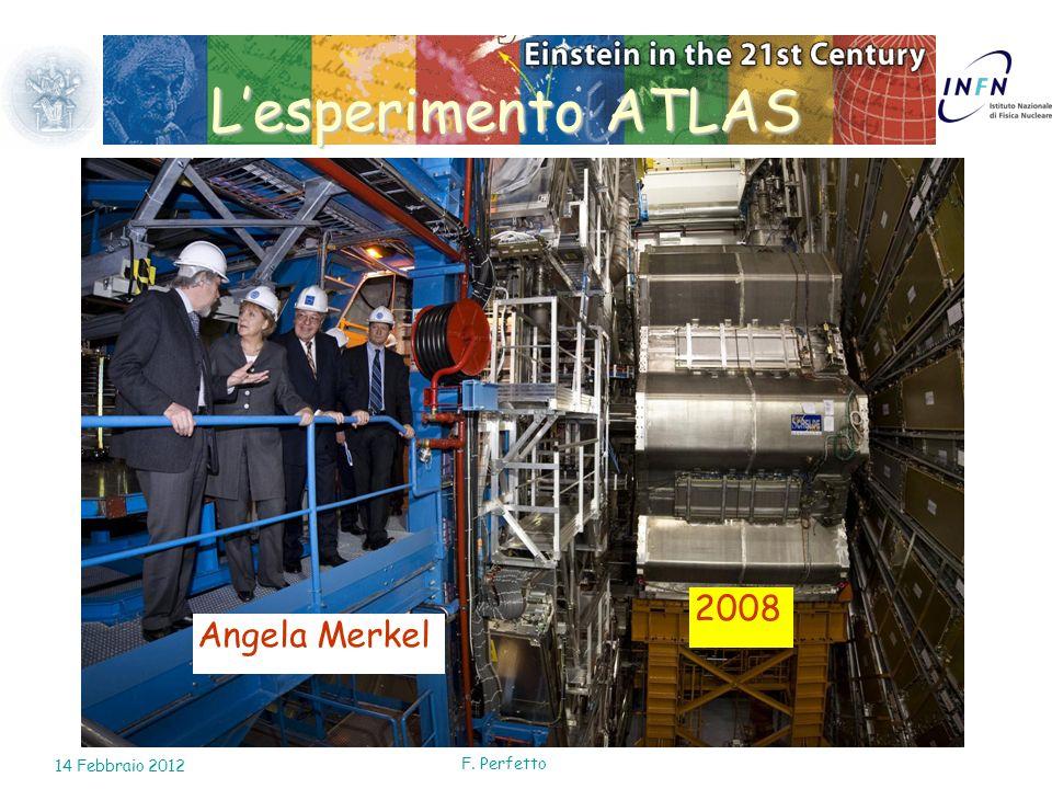 L'esperimento ATLAS 2008 Angela Merkel 14 Febbraio 2012 F. Perfetto