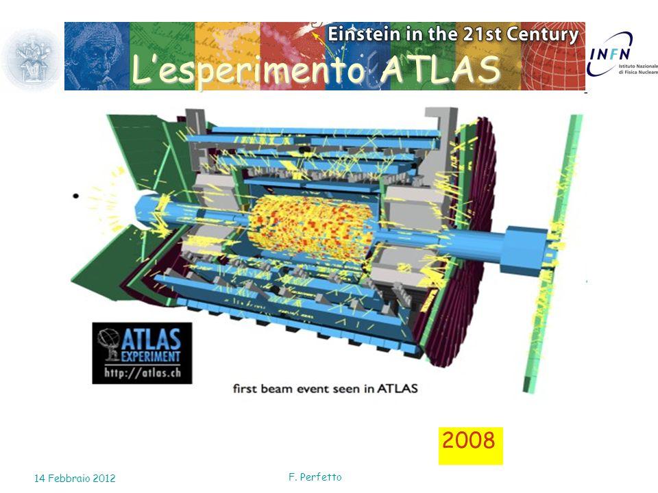 L'esperimento ATLAS 2008 14 Febbraio 2012 F. Perfetto