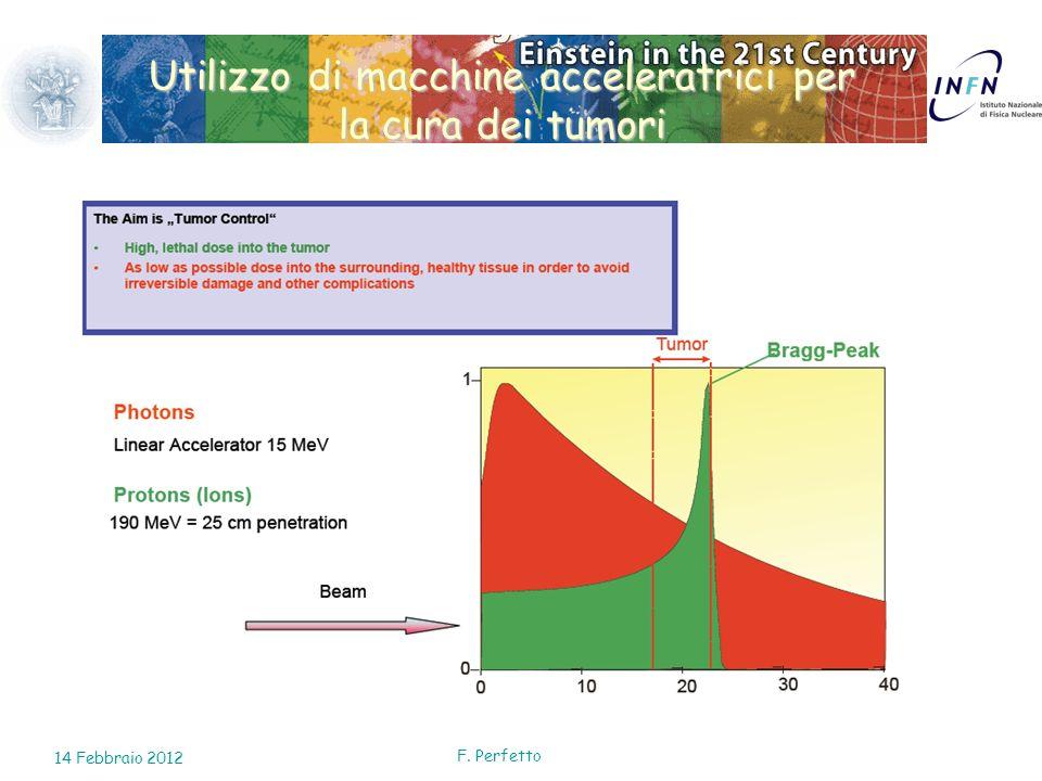 Utilizzo di macchine acceleratrici per la cura dei tumori