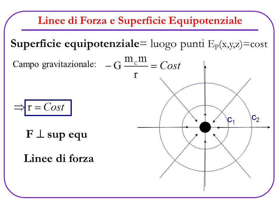 Linee di Forza e Superficie Equipotenziale