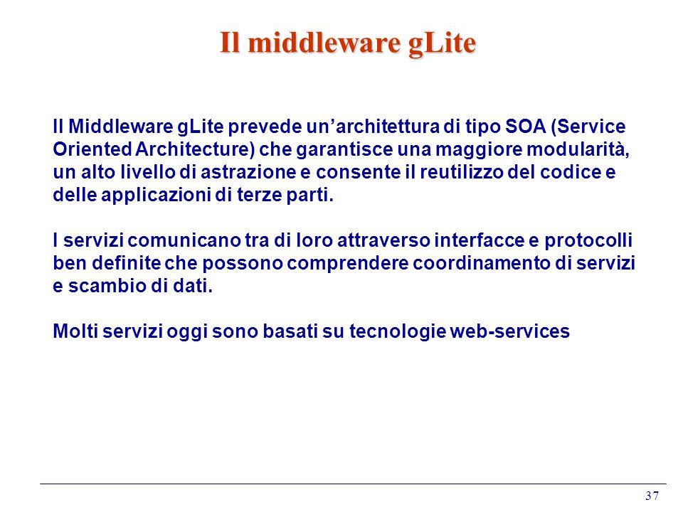 Il middleware gLite