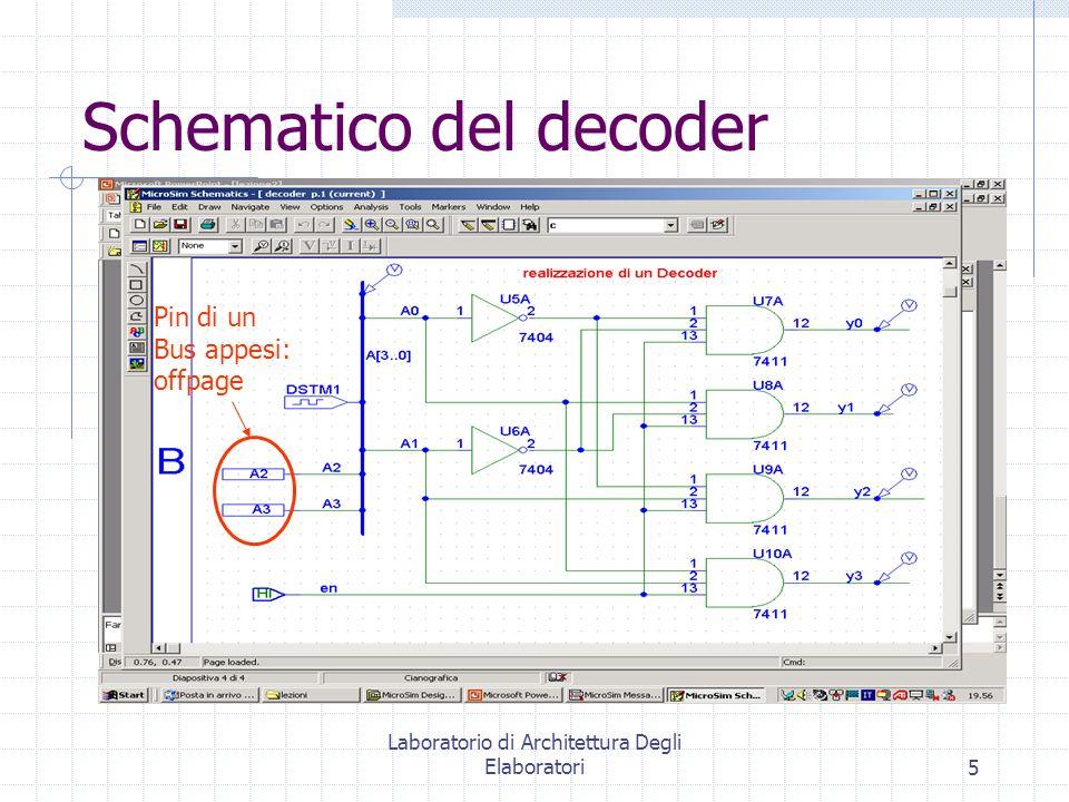 Schematico del decoder