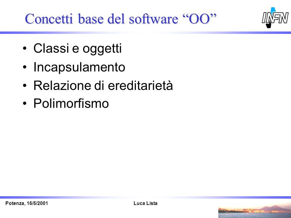 Concetti base del software OO