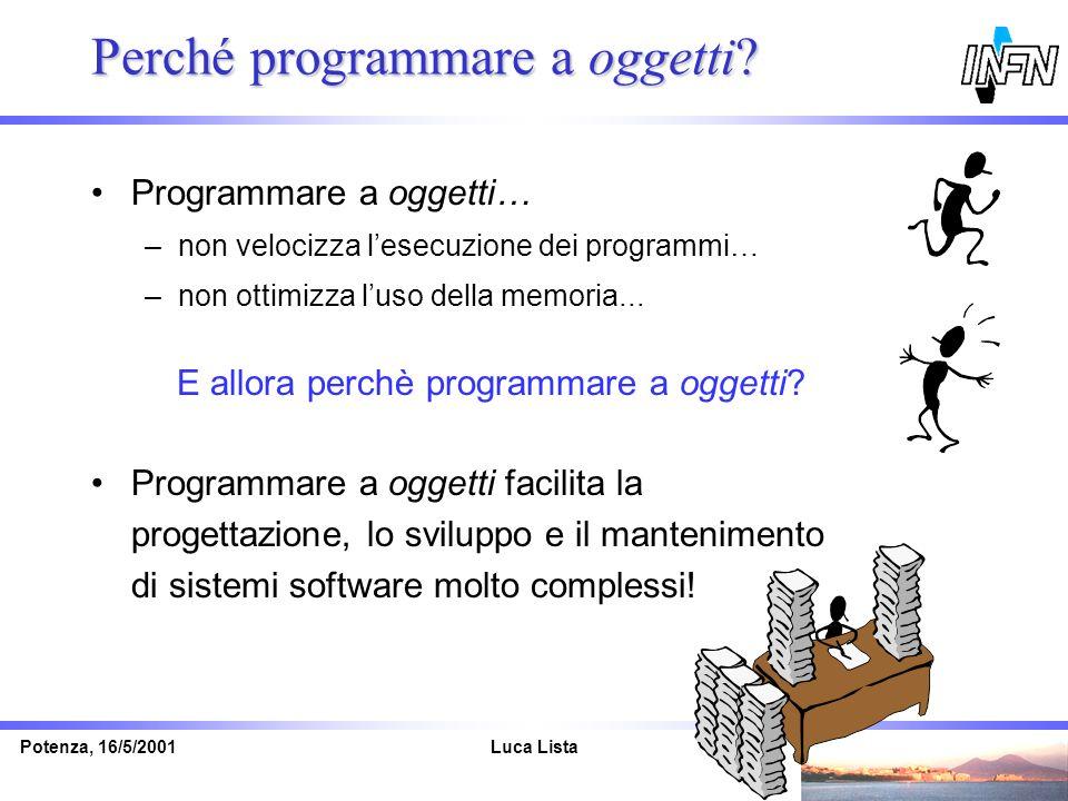 Perché programmare a oggetti