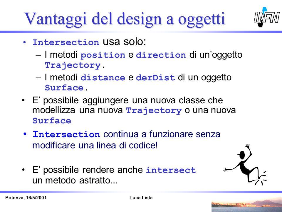 Vantaggi del design a oggetti