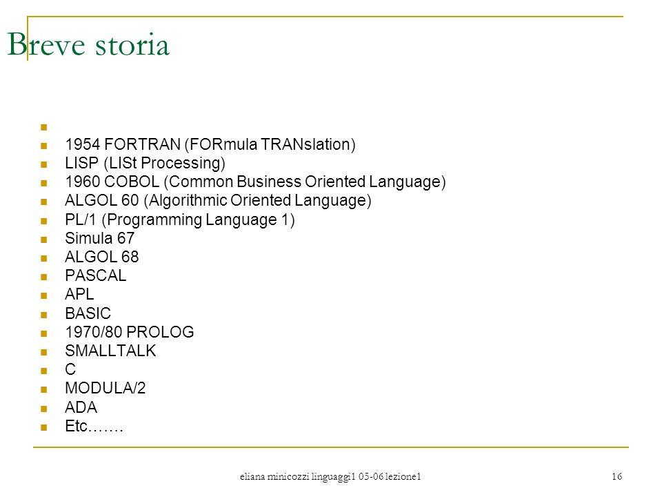 eliana minicozzi linguaggi1 05-06 lezione1