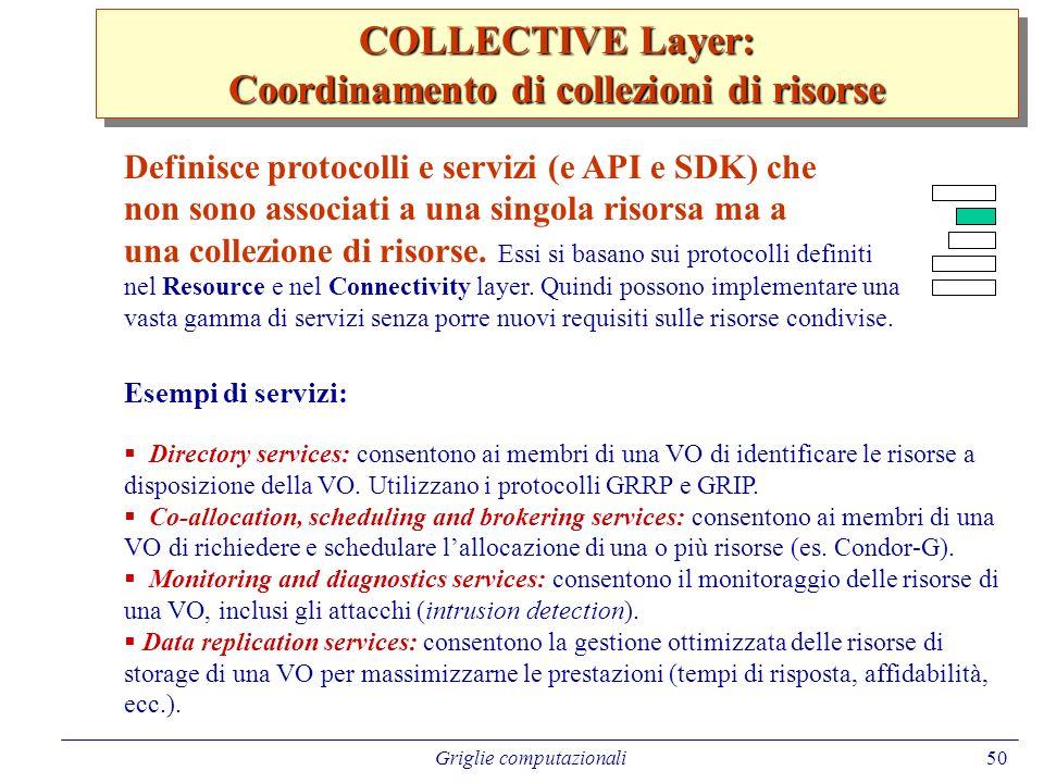 Coordinamento di collezioni di risorse