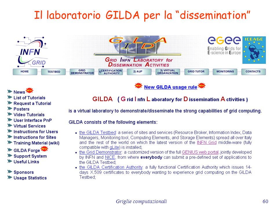 Il laboratorio GILDA per la dissemination