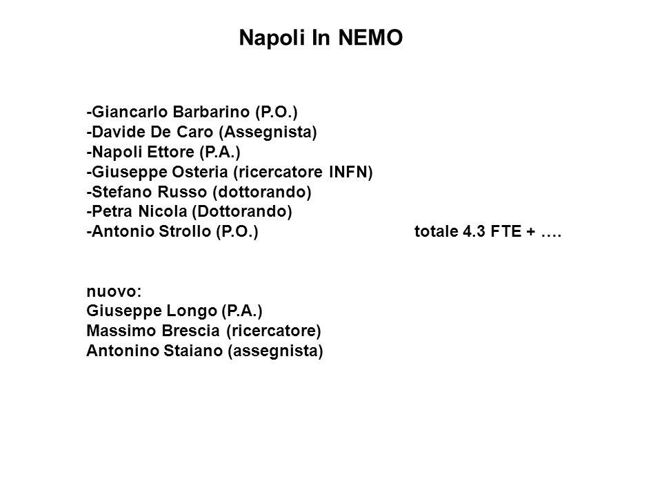 Napoli In NEMO -Giancarlo Barbarino (P.O.)
