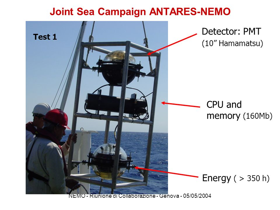 Joint Sea Campaign ANTARES-NEMO