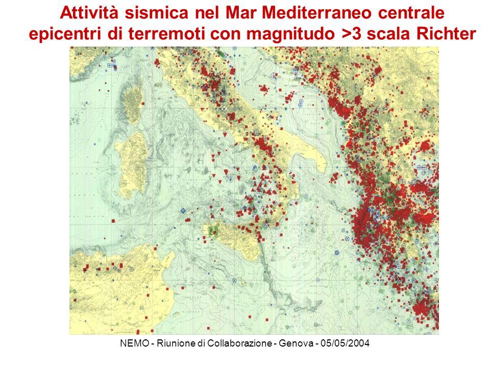 NEMO - Riunione di Collaborazione - Genova - 05/05/2004