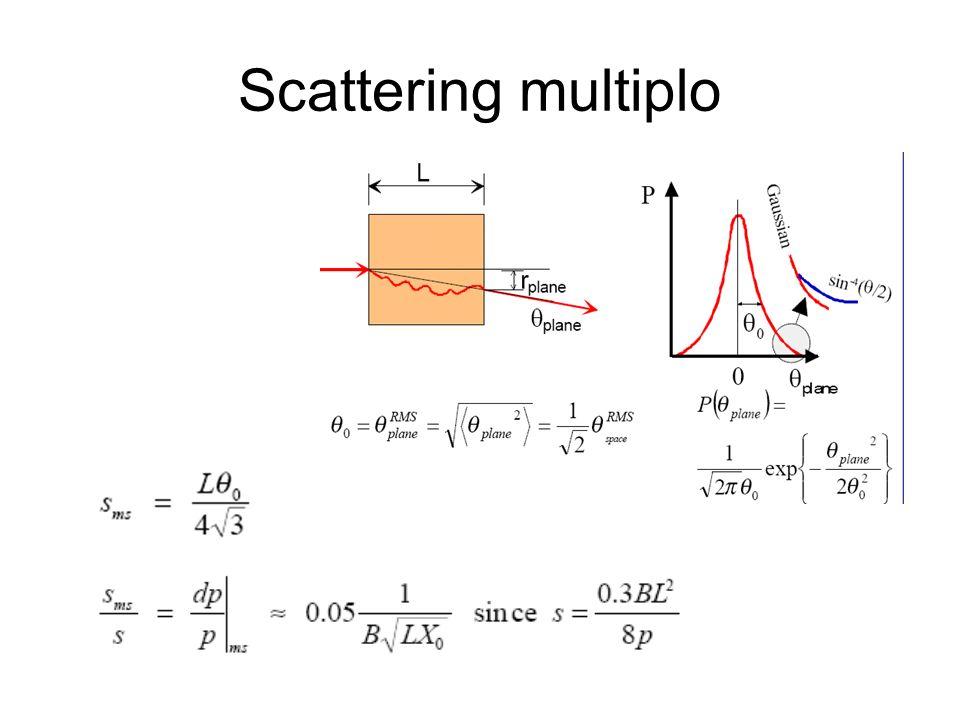 Scattering multiplo