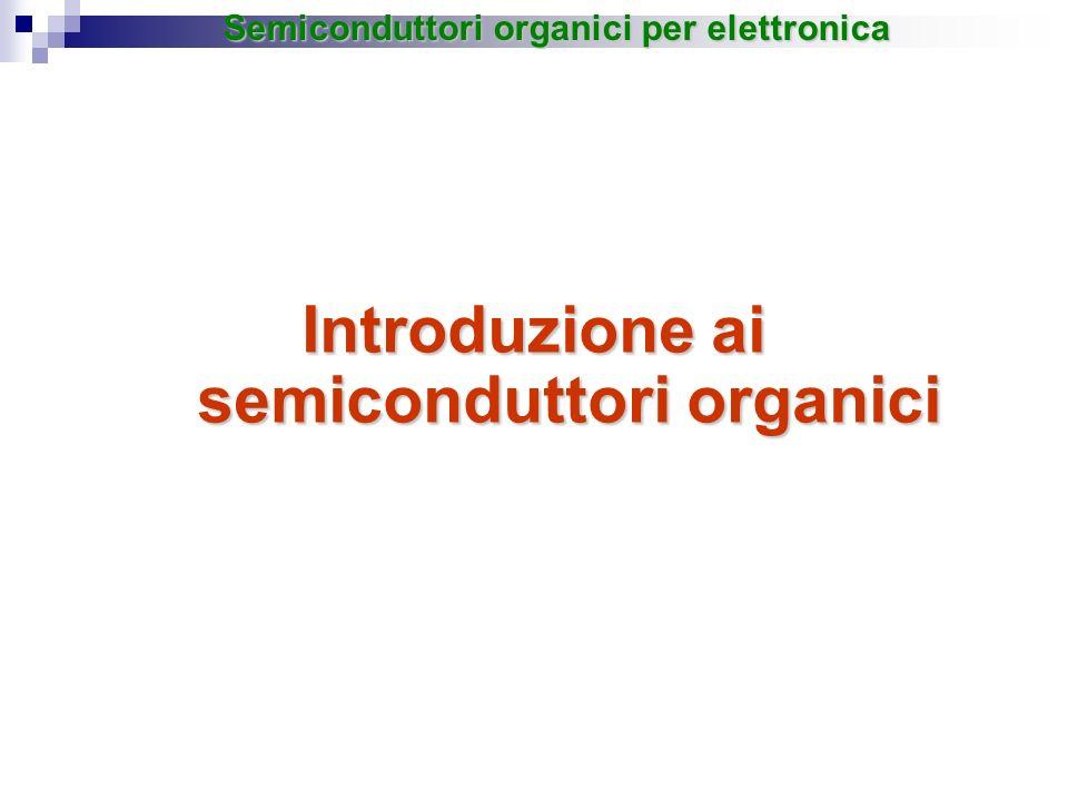 Introduzione ai semiconduttori organici