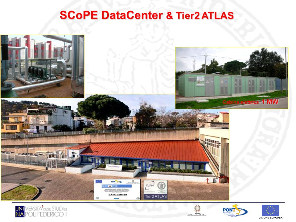 SCoPE DataCenter & Tier2 ATLAS
