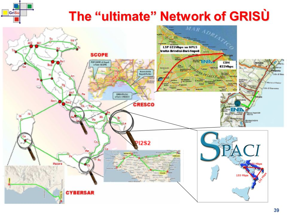 The ultimate Network of GRISÙ